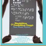 Disabilitas dan Pendidikan Tinggi Bunga Rampai Penelitian