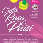 Cinta, Rasa dan Puisi (Antologi Puisi Tema Kuliner) MENU 1